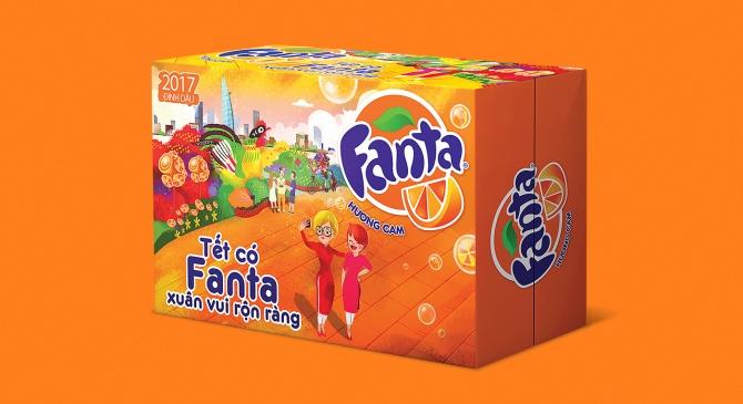 Sprite & Fanta Tet packaging2017