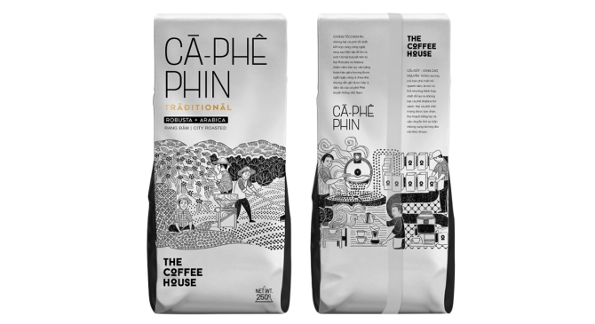 The Coffee House packaging