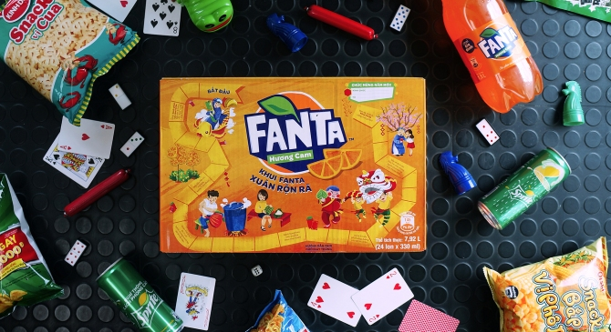 Fanta Board Game 2018